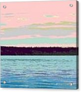 Mukilteo Clinton Ferry Panel 1 Of 3 Acrylic Print