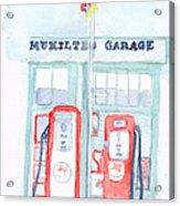 Mukilteo Garage Acrylic Print
