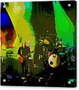 Mule #8 Psychedically Enhanced Image Acrylic Print