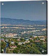 Mullholland Estates Luxury Residences San Fernando Valley Ca Acrylic Print