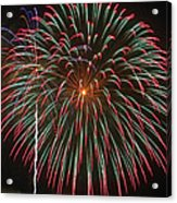 4th Of July Fireworks 16 Acrylic Print