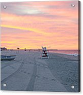 Multi Color Skies - Cape May New Jersey Acrylic Print