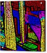 Multi Sensation Colors Acrylic Print