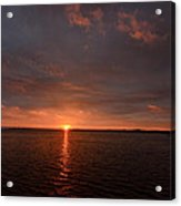 Multicolored Sunrise Acrylic Print
