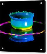 Multicoloured Bowl Acrylic Print
