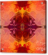 Multilayered Realities Abstract Pattern Artwork By Omaste Witkow Acrylic Print