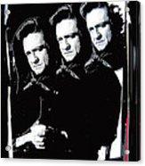 Multiple Johnny Cash Sitting Old Tucson Arizona 1971-2008 Acrylic Print