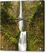 Multnomah Falls 2 B Acrylic Print