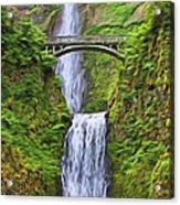 Multnomah Falls I Acrylic Print