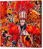 Mummer Red Acrylic Print