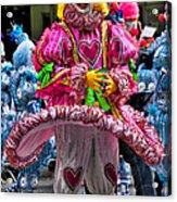 Mummers Underpants Acrylic Print