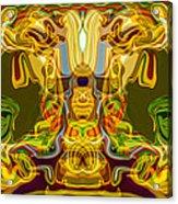 Mummified Acrylic Print