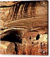 Mummy Cave Ruin Acrylic Print