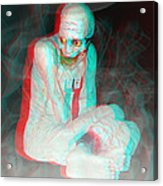 Mummy Dearest - Use Red-cyan Filtered 3d Glasses Acrylic Print