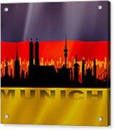 Munich City Acrylic Print