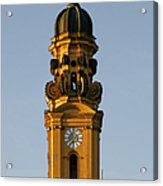 Munich Theatine Church Of St. Cajetan - Theatinerkirche St Kajetan Acrylic Print by Christine Till