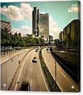 Munich Traffic Acrylic Print