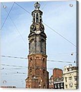 Munttoren In Amsterdam Acrylic Print