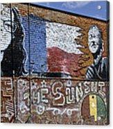 Mural And Graffiti Acrylic Print