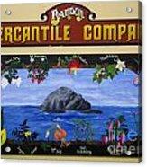 Mural Bandon Mercantile Company Acrylic Print