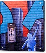 Mural, Nyc, New York City, New York Acrylic Print