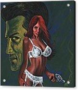 Murder By Scarlett Acrylic Print
