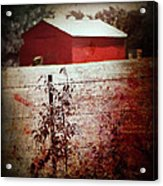 Murder In The Red Barn Acrylic Print