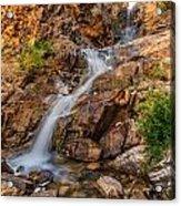Murdock Basin Falls 2 Acrylic Print