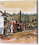 Murphys Camp California Acrylic Print