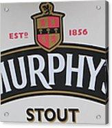 Murphy's Stout Acrylic Print