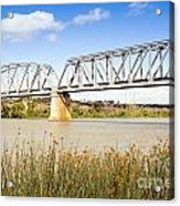 Murray Bridge Acrylic Print