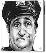 Murray The Cop Acrylic Print