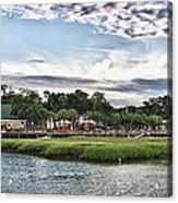 Murrells Inlet Marsh Walk Acrylic Print