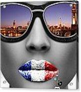 Musa Paris Acrylic Print