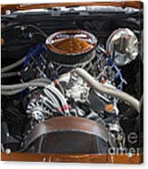 Muscle Car Engine Acrylic Print