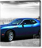 Muscle Car Fusion Acrylic Print