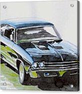 Muscle Car Acrylic Print