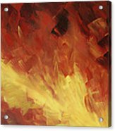 Muse In The Fire 2 Acrylic Print