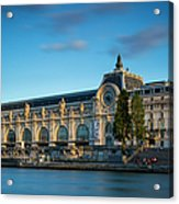 Musee D'orsay Evening Acrylic Print
