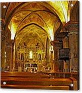 Musee Franciscain Et Monastere De Cimiez Acrylic Print