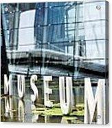 Museum Reflection Acrylic Print