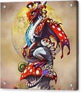 Mushroom Dragon Acrylic Print