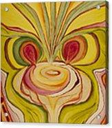Sage Onion Mushroom Acrylic Print
