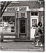 Music - Bag Piper - Somerville Nj -  The Scottsman Acrylic Print