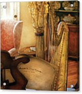 Music - Harp - The Harp Acrylic Print