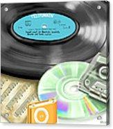 Music History Acrylic Print