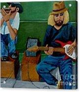 Music Of The Street Acrylic Print