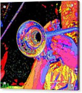 Music Out Of Metal V Acrylic Print