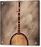 Music - String - Banjo  Acrylic Print by Mike Savad