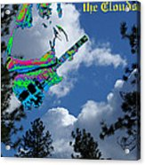 Music Up In The Clouds Acrylic Print